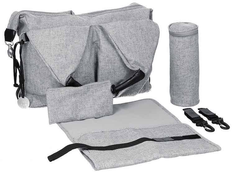 Lässig Wickeltasche Neckline Bag